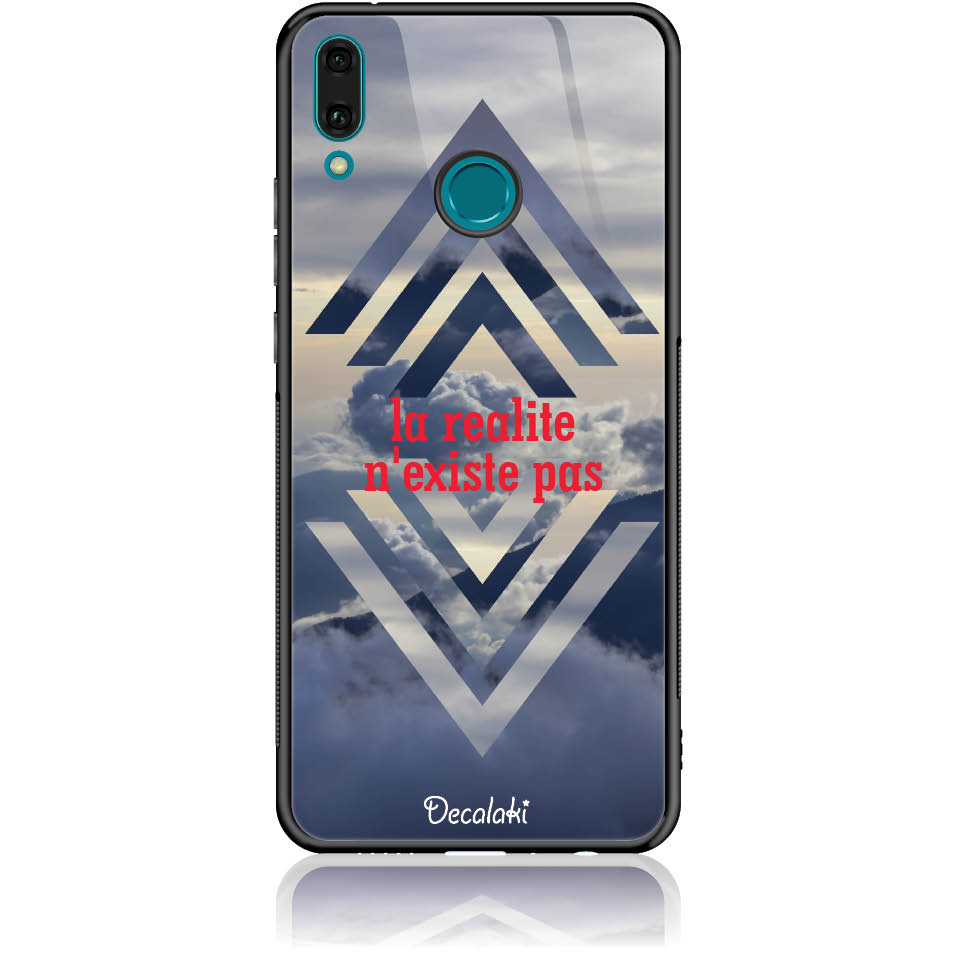 Case Design 50238  -  Huawei Y9 2019  -  Tempered Glass Case