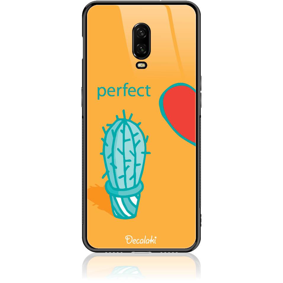 Case Design 50249  -  One Plus 6t  -  Tempered Glass Case