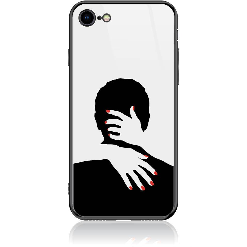 Case Design 50285  -  Iphone 8  -  Tempered Glass Case