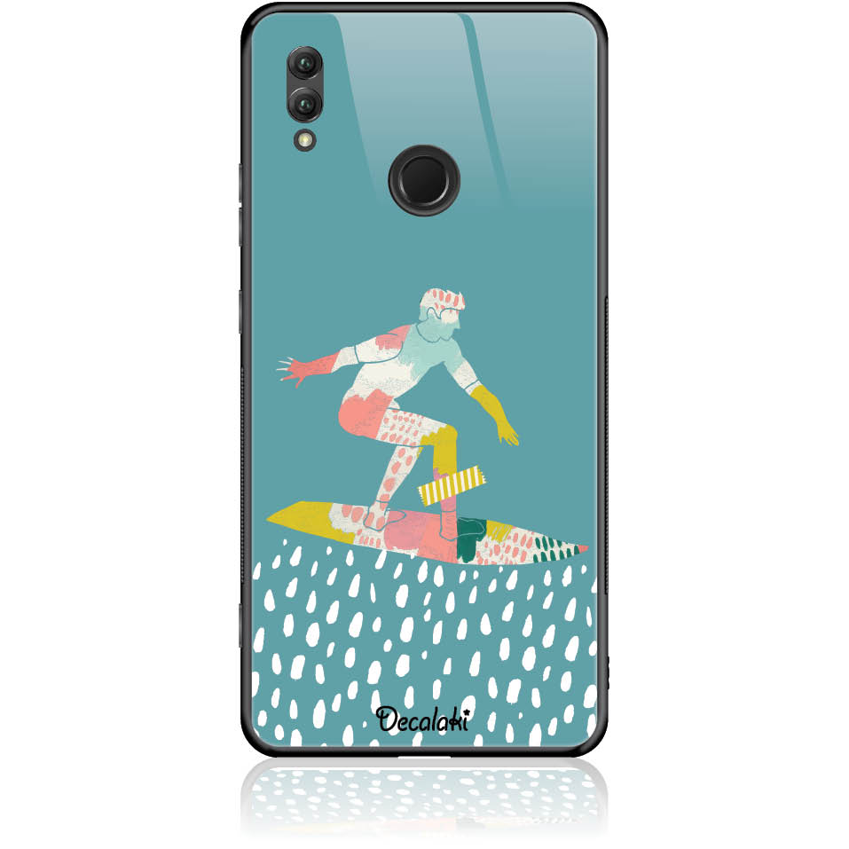Surf Boy Phone Case Design 50305  -  Honor Note 10  -  Tempered Glass Case