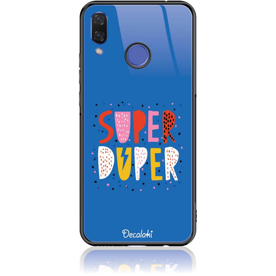 Case Design 50313  -  Huawei Nova 3  -  Tempered Glass Case