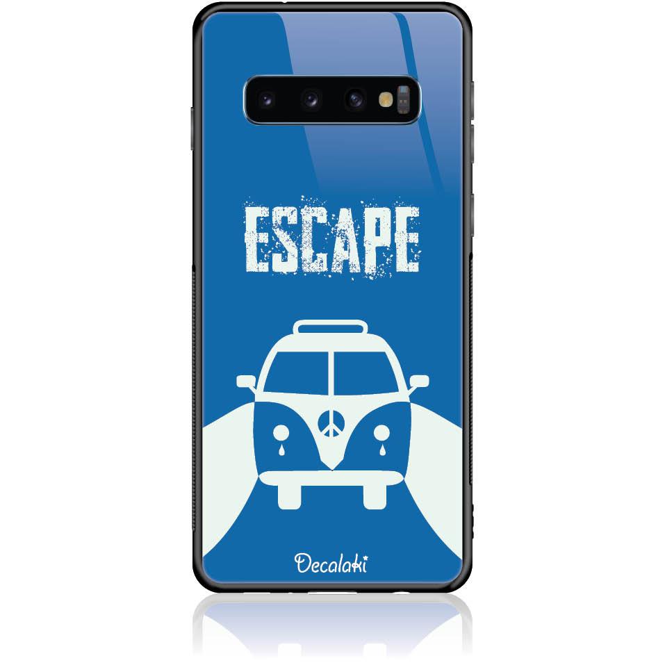 Escape For Life Phone Case Design 50314  -  Samsung S10  -  Tempered Glass Case