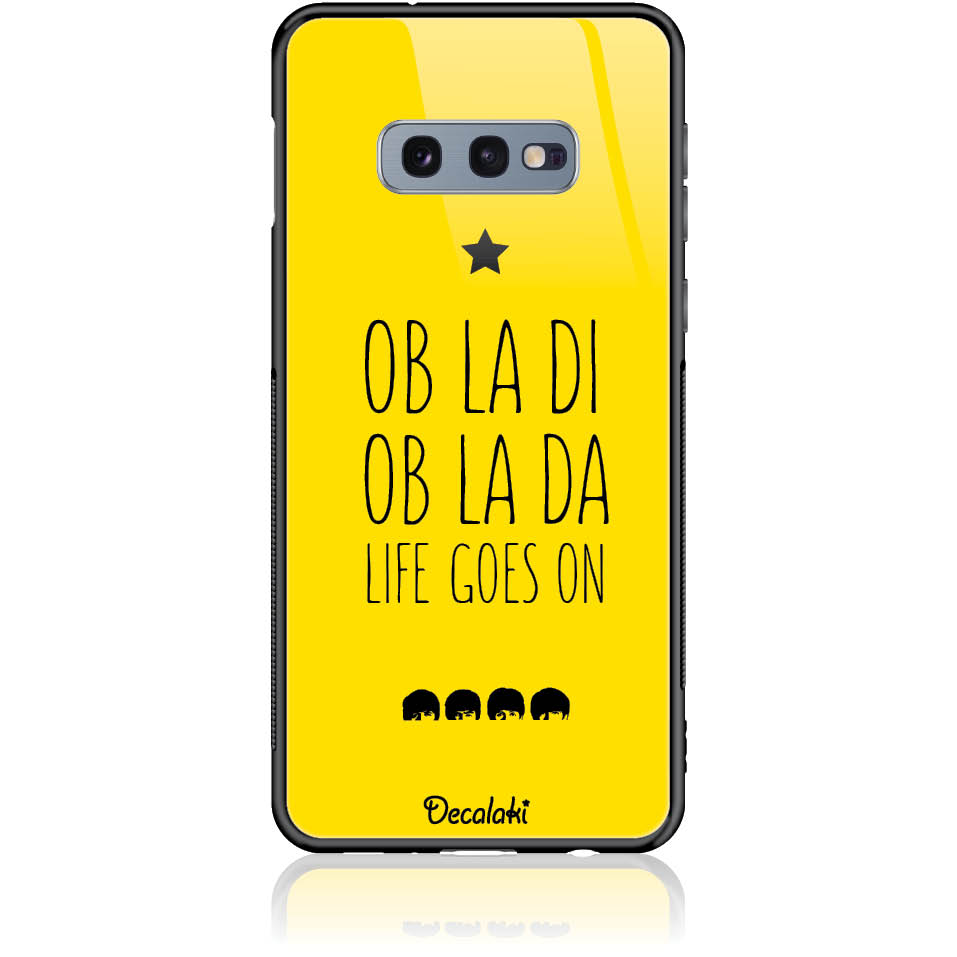 Case Design 50330  -  Samsung S10e  -  Tempered Glass Case