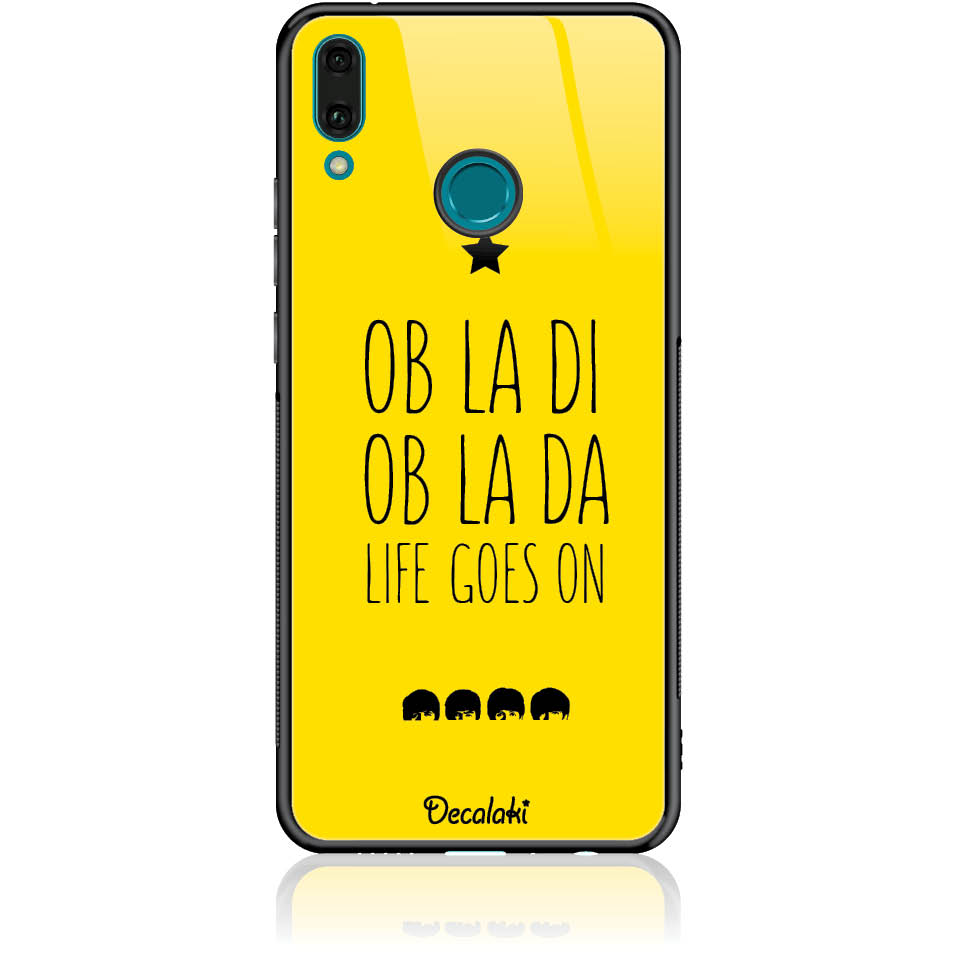 Case Design 50330  -  Huawei Y9 2019  -  Tempered Glass Case