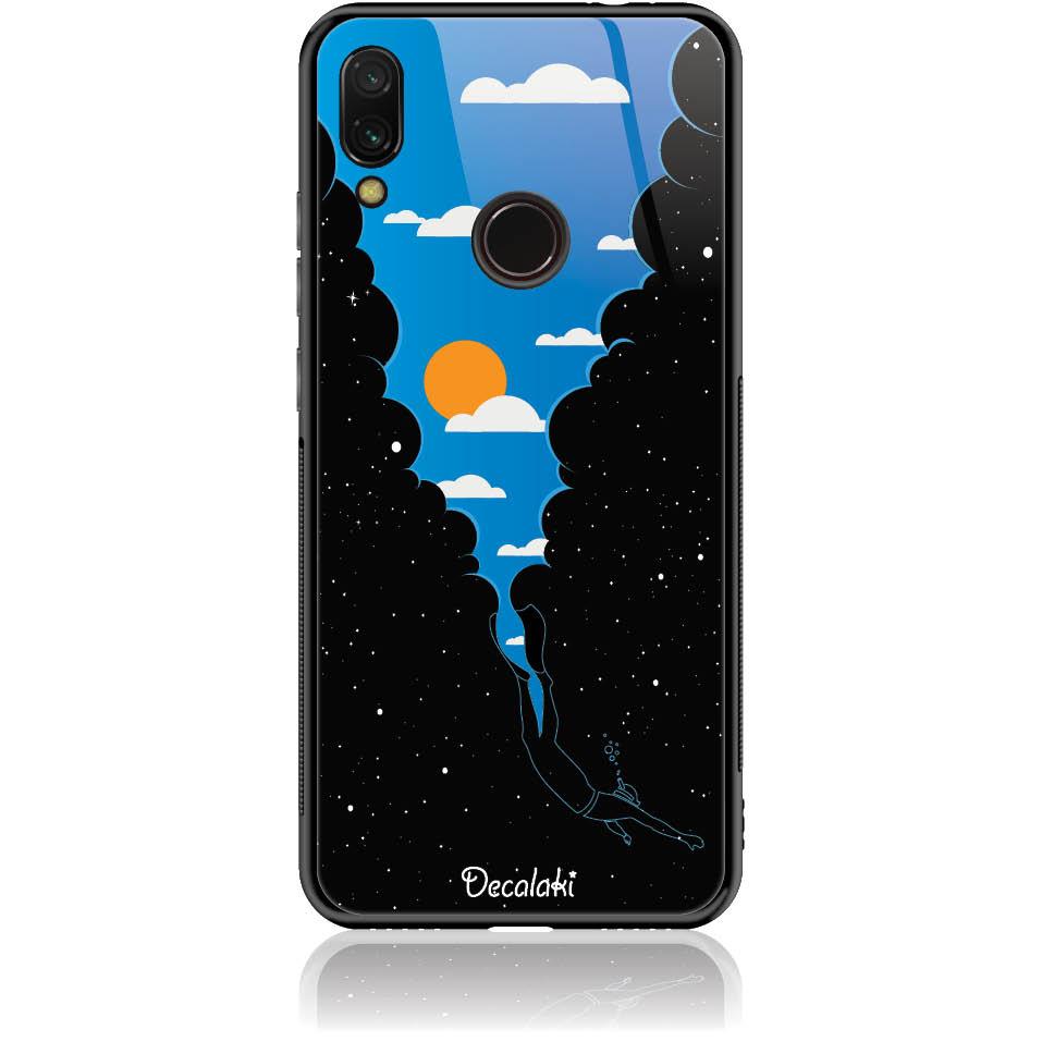 Case Design 50355  -  Xiaomi Redmi Note 7  -  Tempered Glass Case