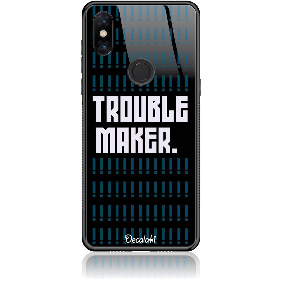 Trouble Maker Phone Case Design 50382  -  Xiaomi Mi Mix 3  -  Tempered Glass Case