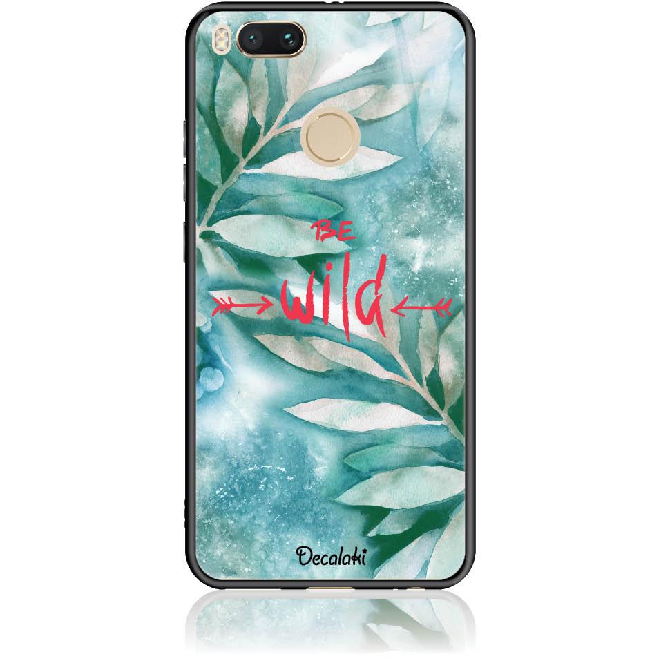 Be Wild Phone Case Design 50428  -  Xiaomi Mi 5x  -  Tempered Glass Case