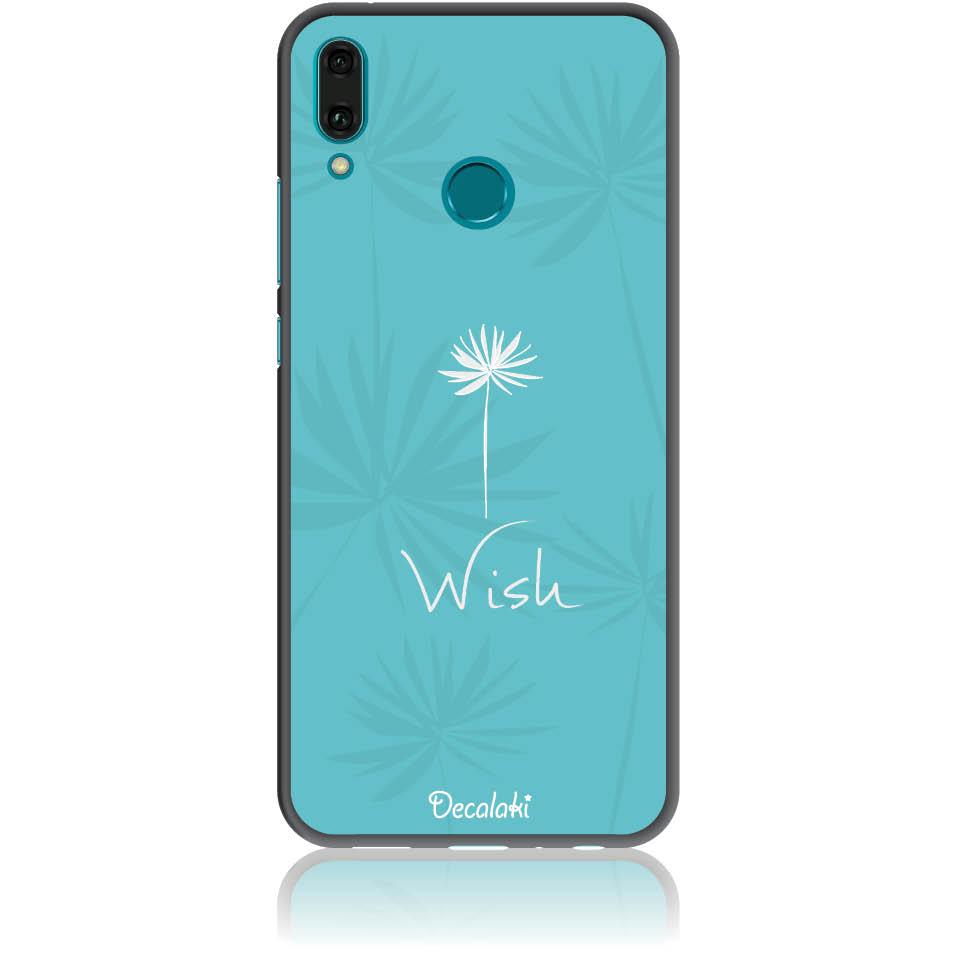 Wish Phone Case Design 50434  -  Huawei Enjoy 9 Plus  -  Soft Tpu Case