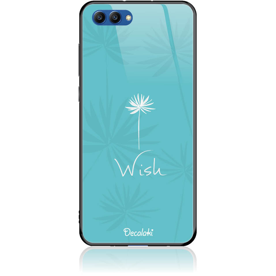 Wish Phone Case Design 50434  -  Honor View 10  -  Tempered Glass Case