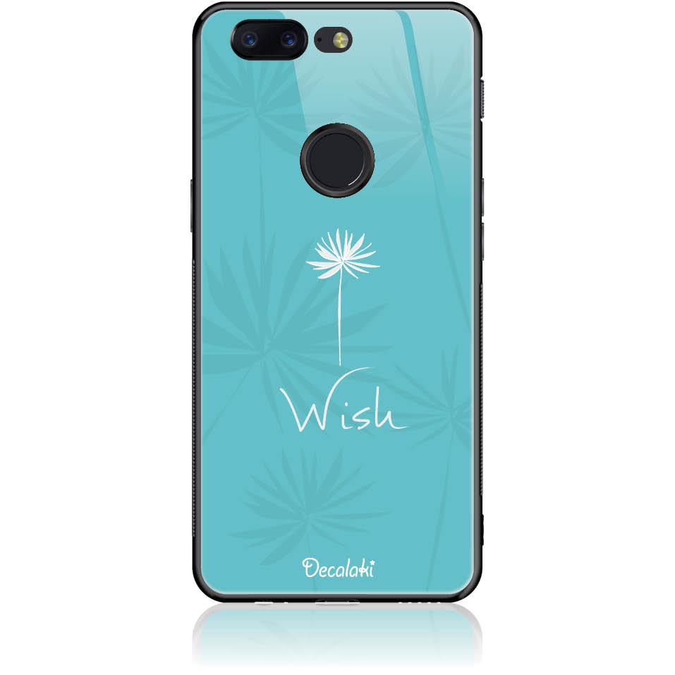 Wish Phone Case Design 50434  -  One Plus 5t  -  Tempered Glass Case