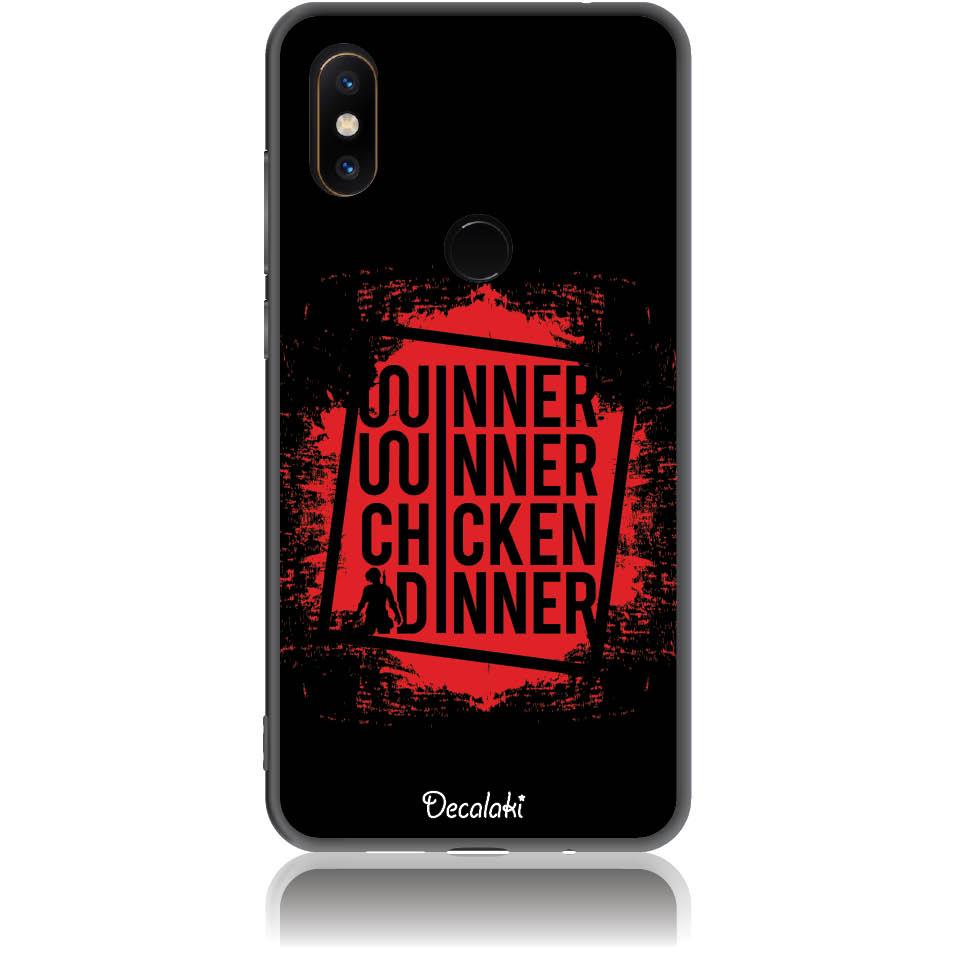 Pubg Phone Case Design 50447  -  Xiaomi Mi Mix 2s  -  Soft Tpu Case