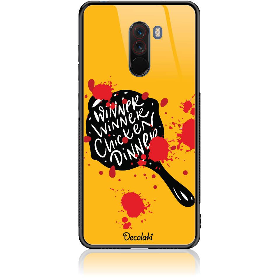 Pubg Phone Case Design 50448  -  Xiaomi Pocophone F1  -  Tempered Glass Case