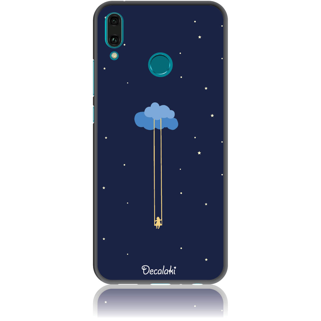 Happiness Is A State Of Mind Phone Case Design 50312  -  Huawei Enjoy 9 Plus  -  Soft Tpu Case