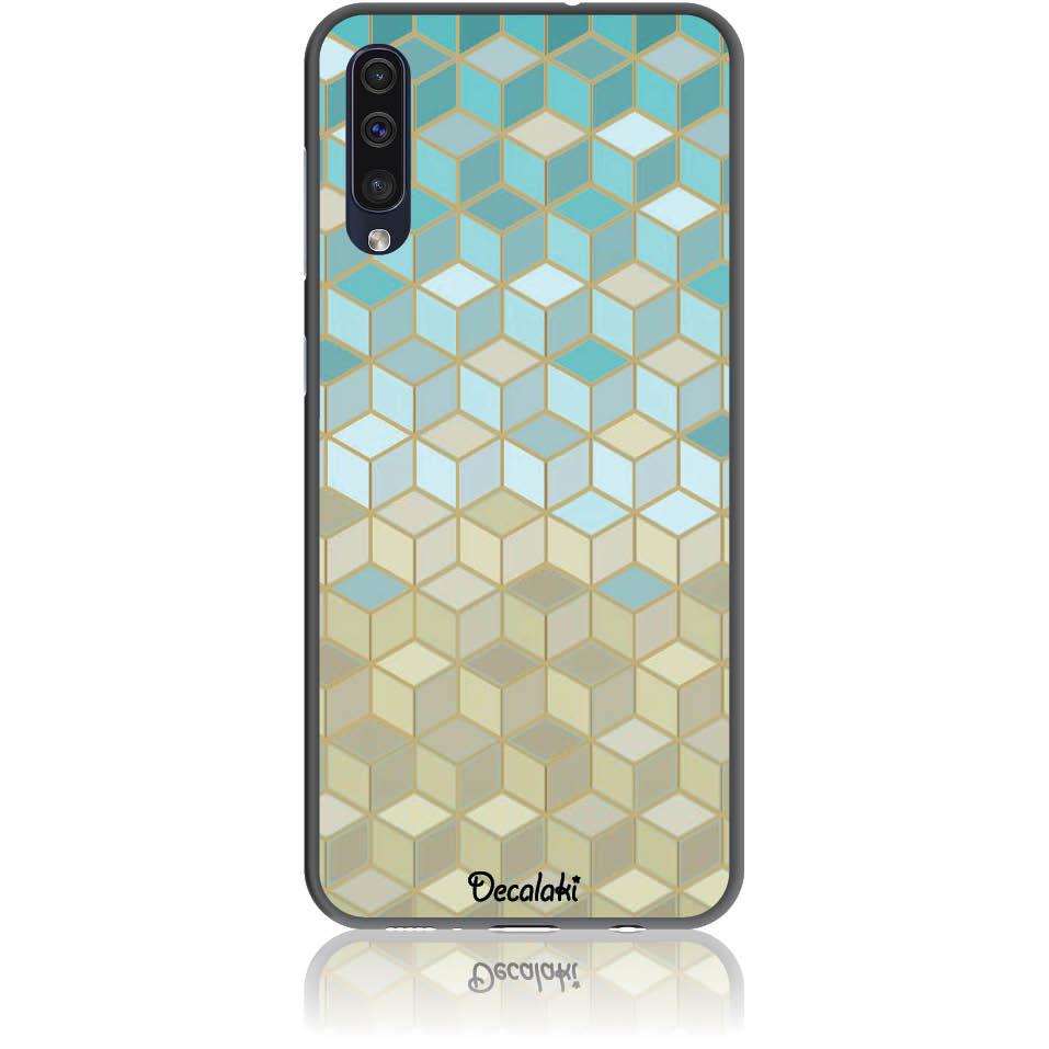 Pattern Phone Case Design 50034  -  Samsung Galaxy A50  -  Soft Tpu Case