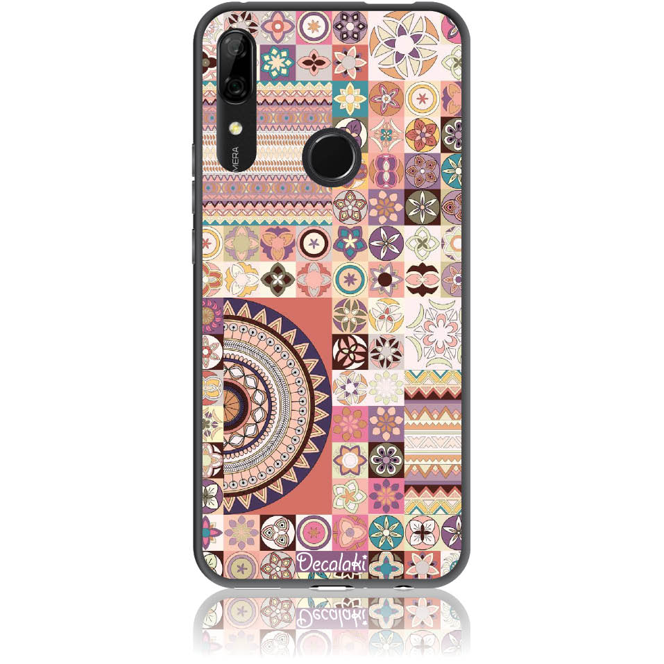 Vintage Pattern Phone Case Design 50093  -  Huawei P Smart Z  -  Soft Tpu Case