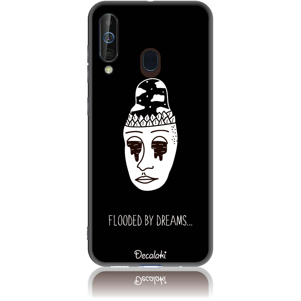 Flooded By Dreams Phone Case Design 50101  -  Samsung Galaxy A60  -  Soft Tpu Case