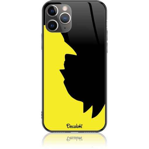 Minimal negative look Batman-Birdman Black Yellow Phone Case Design 50019