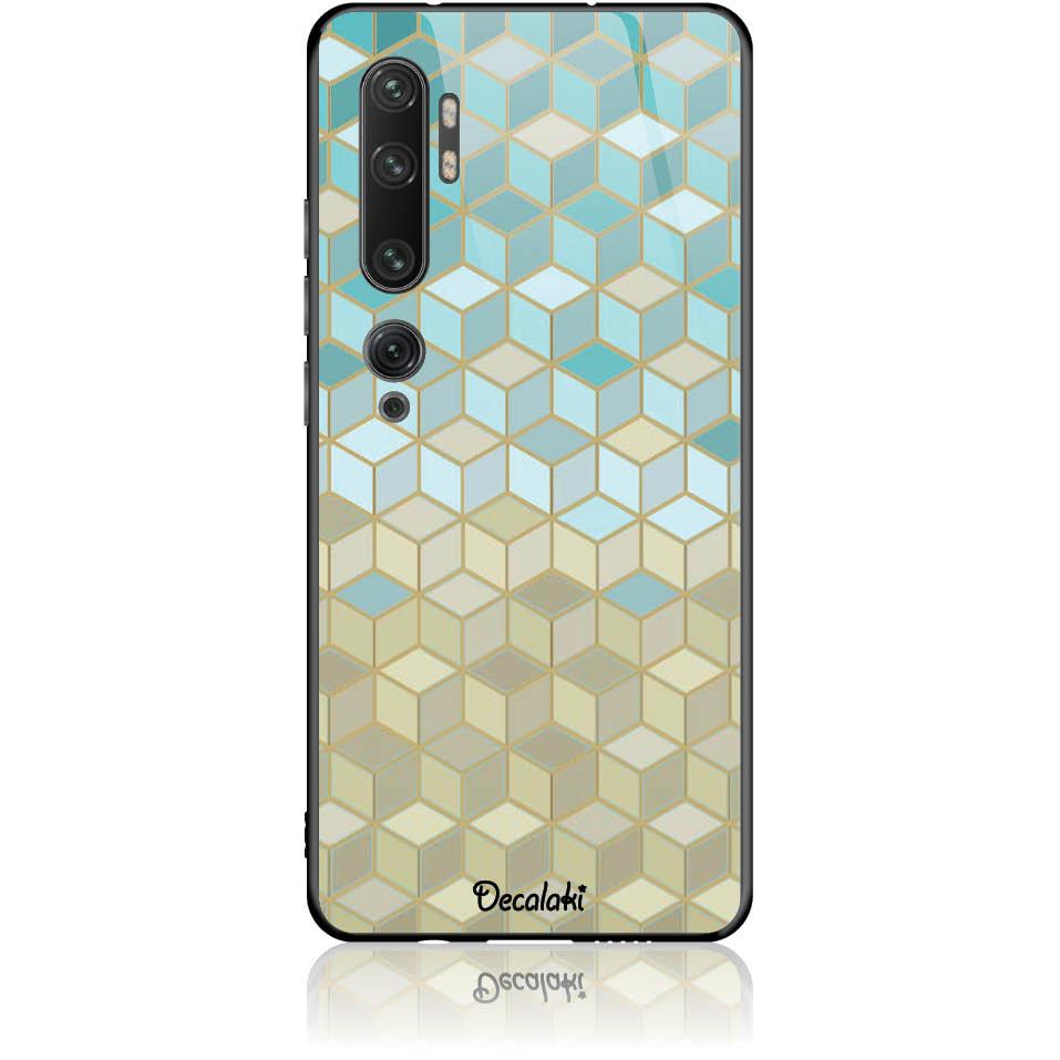 Pattern Phone Case Design 50034  -  Xiaomi Mi Note 10 Pro  -  Tempered Glass Case