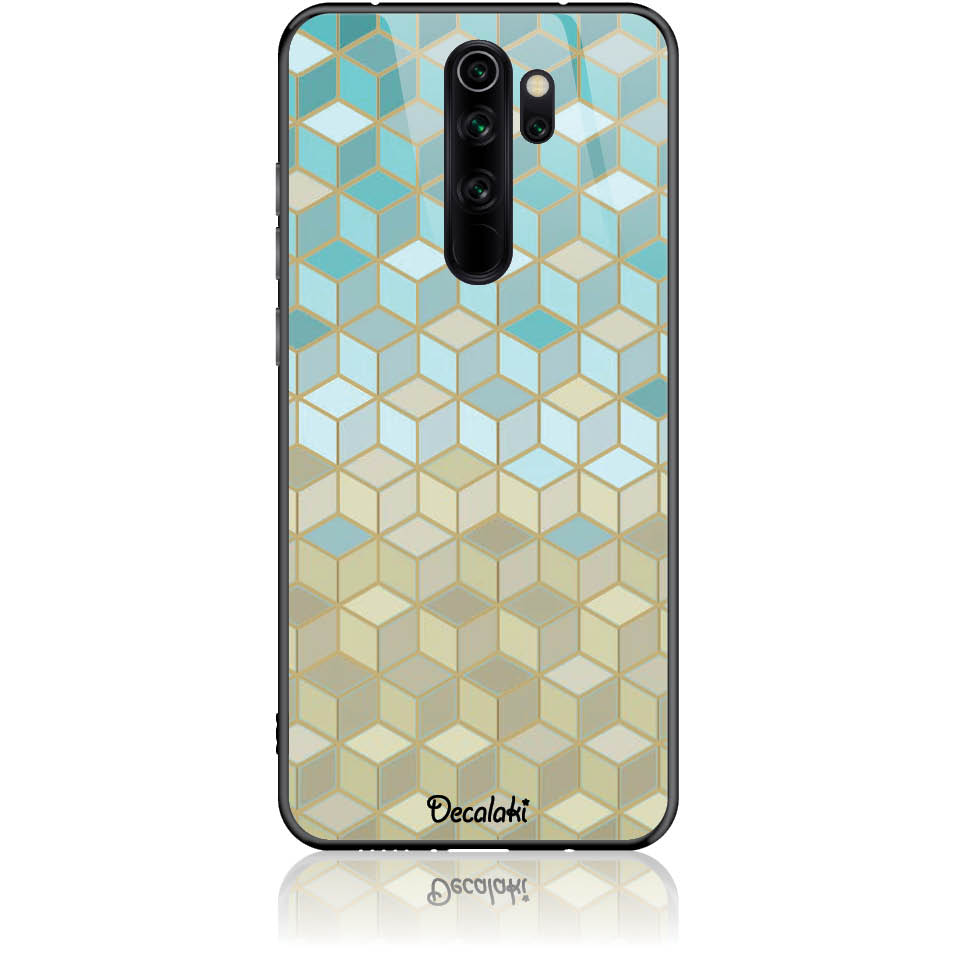 Pattern Phone Case Design 50034  -  Xiaomi Redmi Note 8 Pro  -  Tempered Glass Case