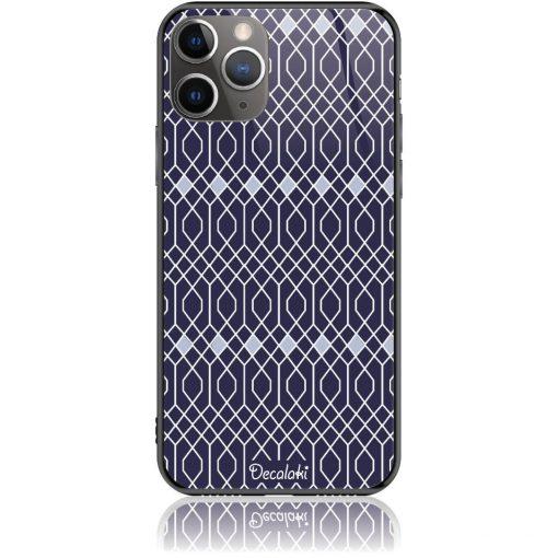 Rhombus Pattern Phone Case Design 50037