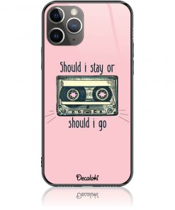 Should i Stay or Should i Go Phone Case Design 50058