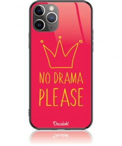 No Drama Please Red Phone Case Design 50092