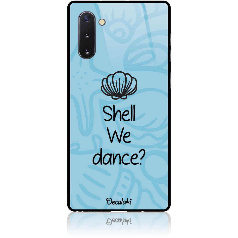 Sell We Dance Phone Case Design 50118  -  Samsung Galaxy Note 10  -  Tempered Glass Case
