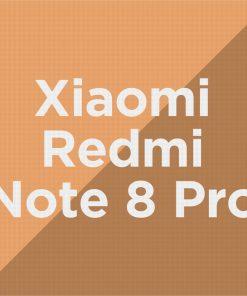 Customize Xiaomi Redmi Note 8 Pro