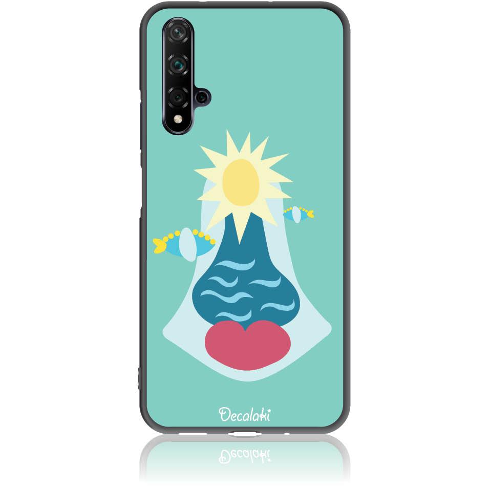 Summer Queen Phone Case Design 50167  -  Huawei Nova 5t  -  Soft Tpu Case