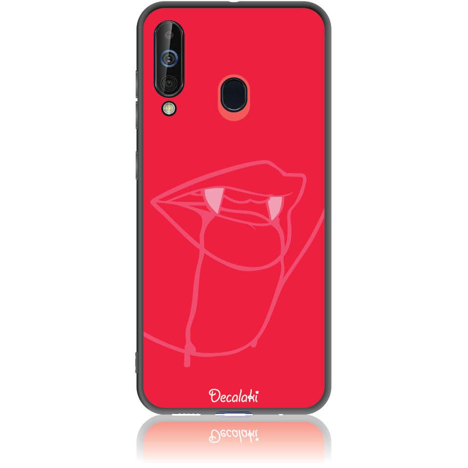 Sexy Vimpire Red Phone Case Design 50226  -  Samsung Galaxy A60  -  Soft Tpu Case