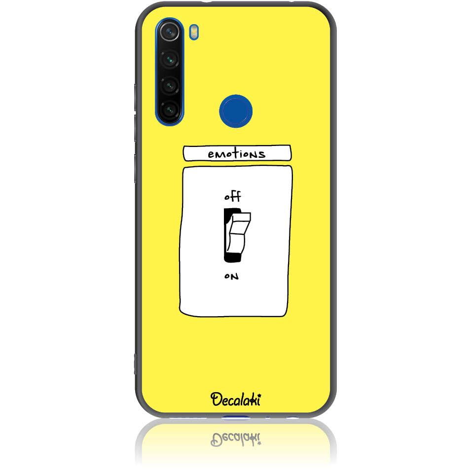 Emotions Off Phone Case Design 50228  -  Xiaomi Redmi Note 8  -  Soft Tpu Case
