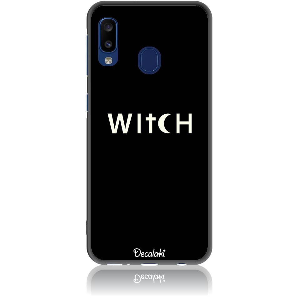 Witch Black Phone Case Design 50235  -  Samsung Galaxy A20e  -  Soft Tpu Case