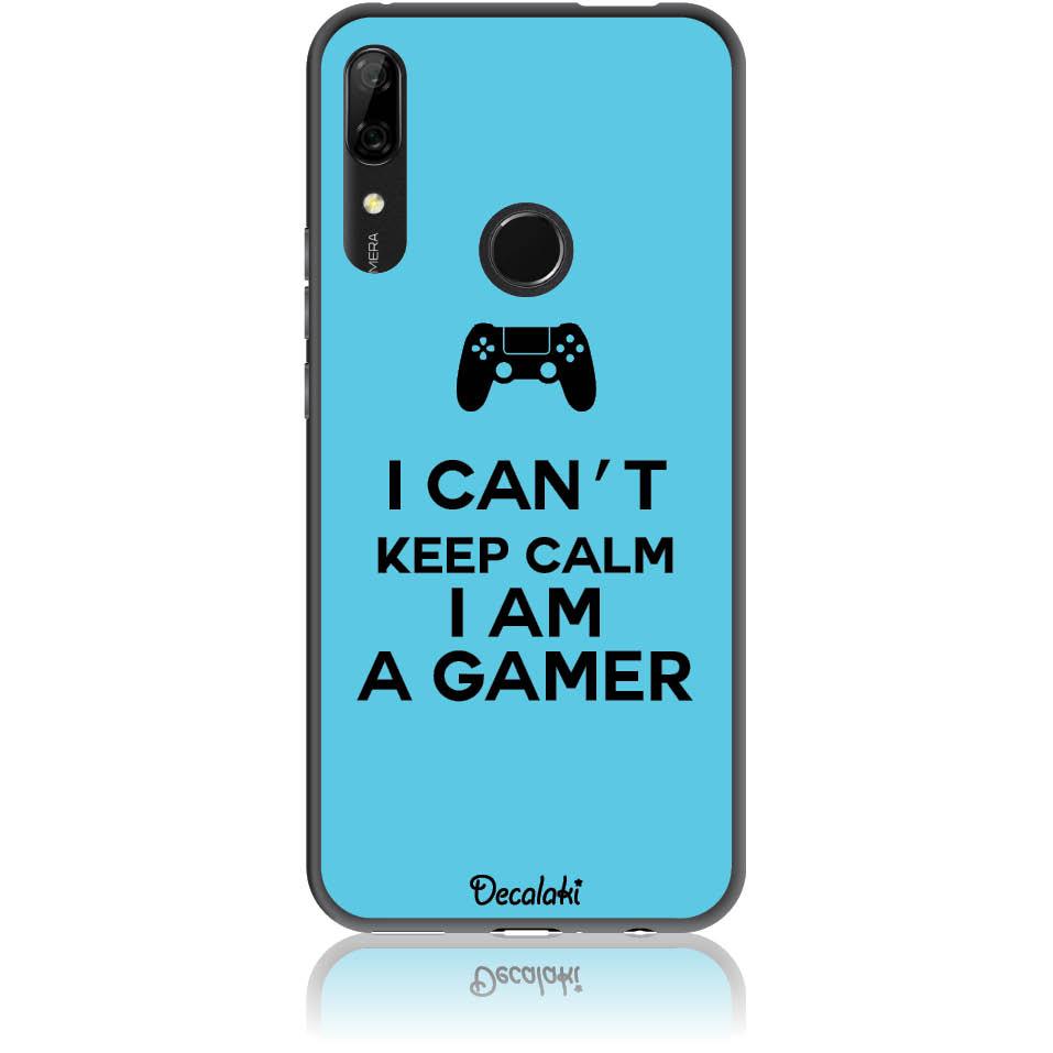 Can't Keep Calm Gamer Phone Case Design 50259  -  Huawei P Smart Z  -  Soft Tpu Case