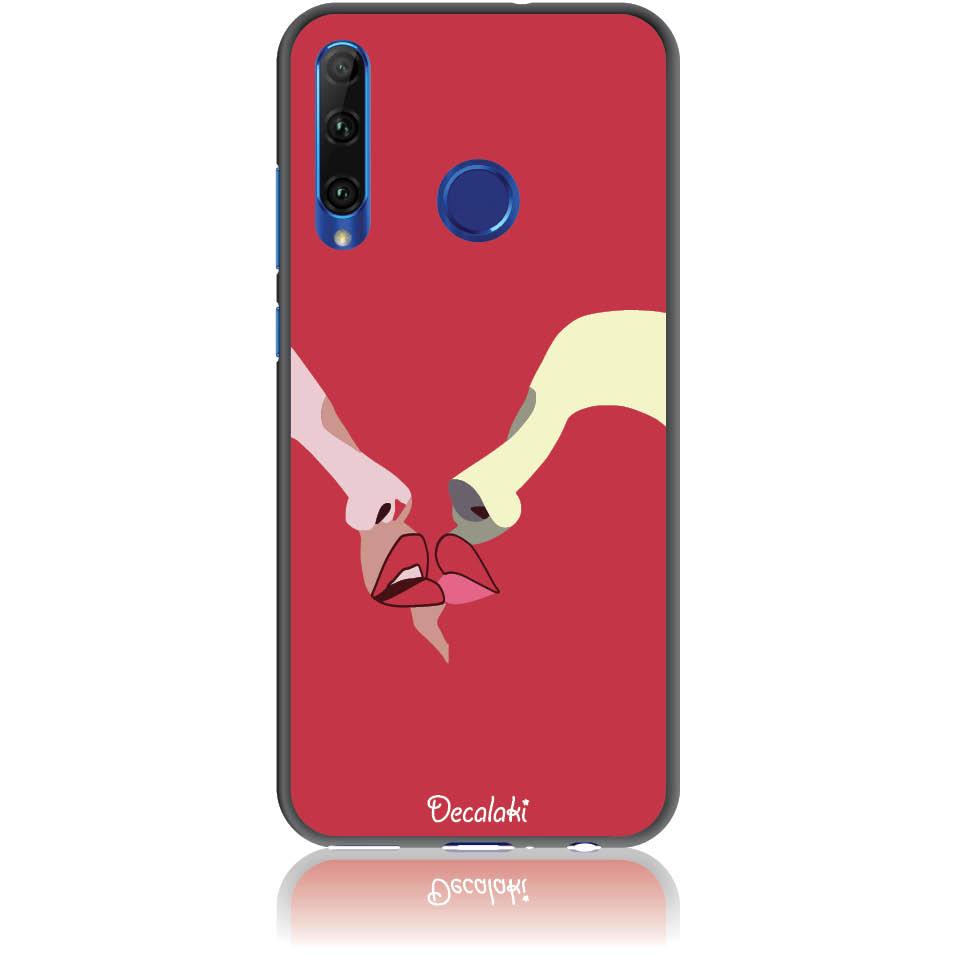 Red Lovers Phone Case Design 50297  -  Honor 20 Lite  -  Soft Tpu Case