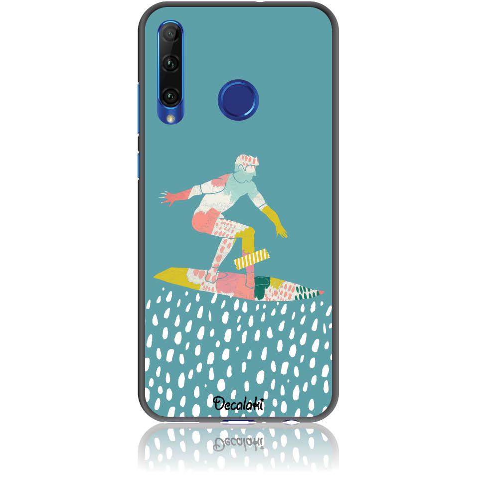 Surf Boy Phone Case Design 50305  -  Honor 20 Lite  -  Soft Tpu Case
