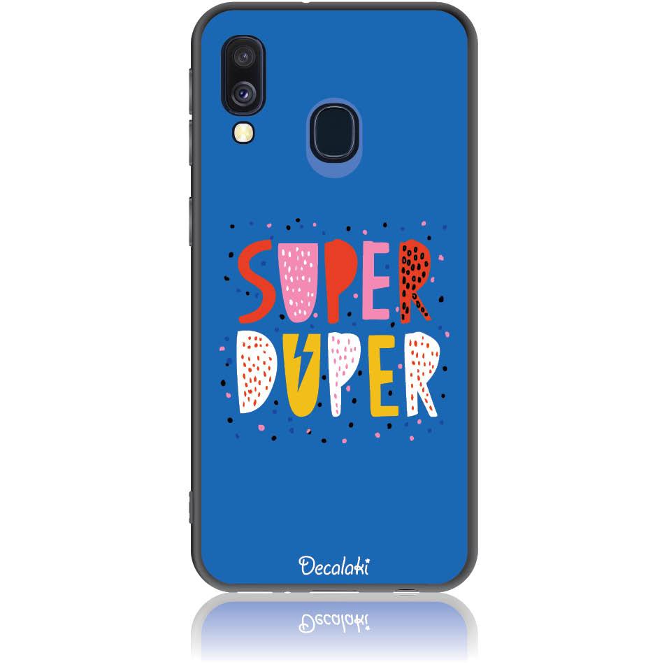 Case Design 50313  -  Samsung Galaxy A40  -  Soft Tpu Case