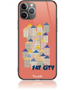 Fat City Pastel Phone Case Design 50171