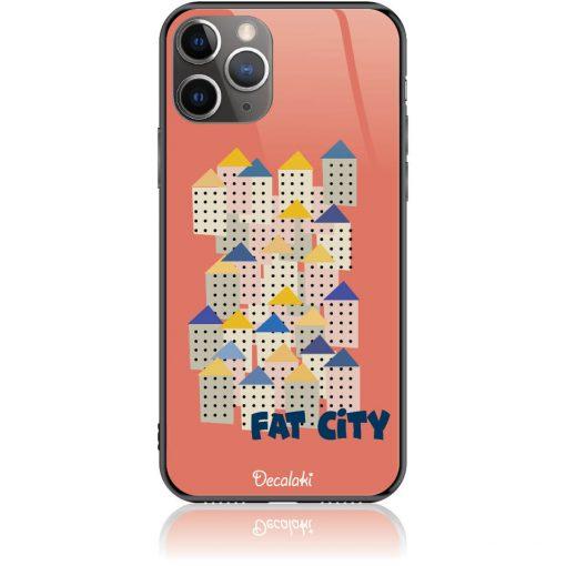 Fat City Pastel Phone Case Design 50171