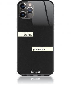 I Love You Phone Case Design 50236