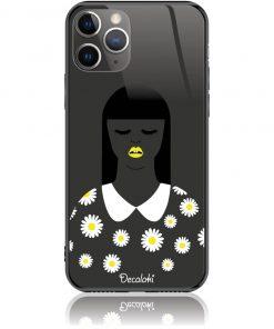 African Beauty Daisy Girl Phone Case Design 50327