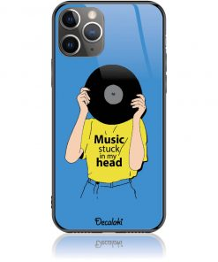 Music Stuck in My Head Phone Case Design 50339