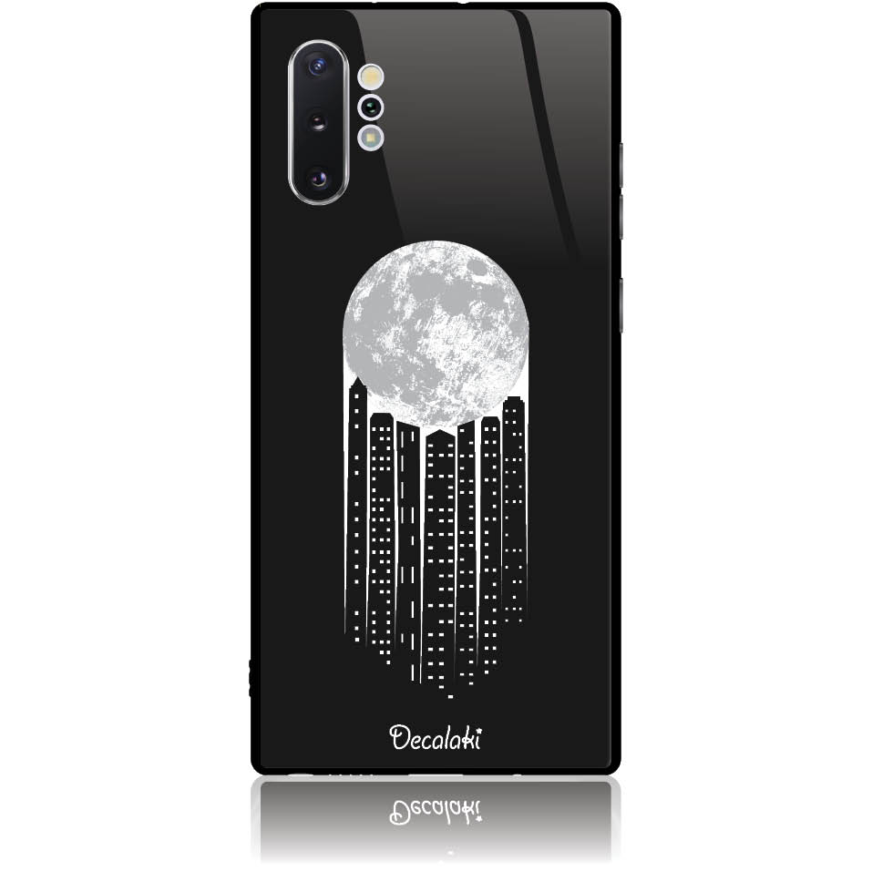 City Moonlight Phone Case Design 50369  -  Samsung Galaxy Note 10+  -  Tempered Glass Case