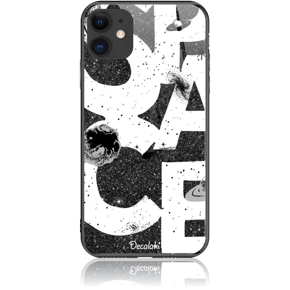 Space Art Phone Case Design 50375  -  Iphone 11  -  Tempered Glass Case