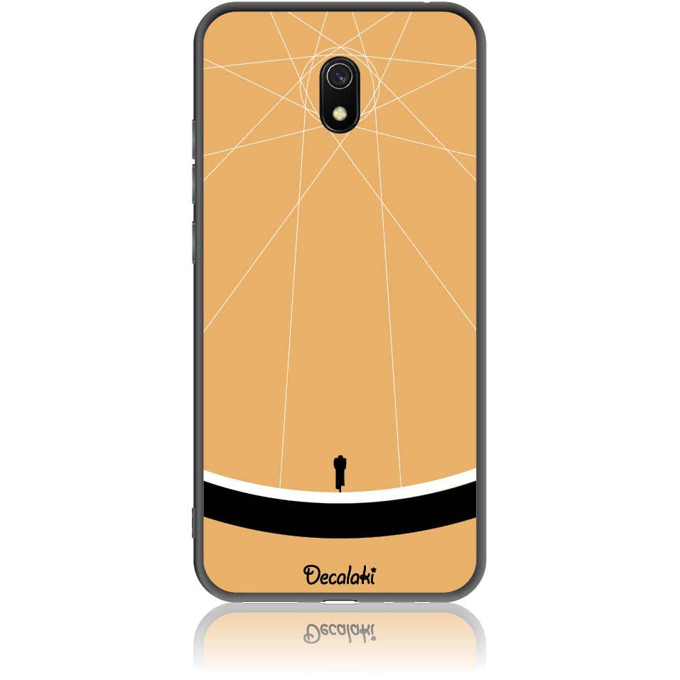 Cyclologist Minimal Phone Case Design 50110  -  Xiaomi Redmi 8a  -  Soft Tpu Case