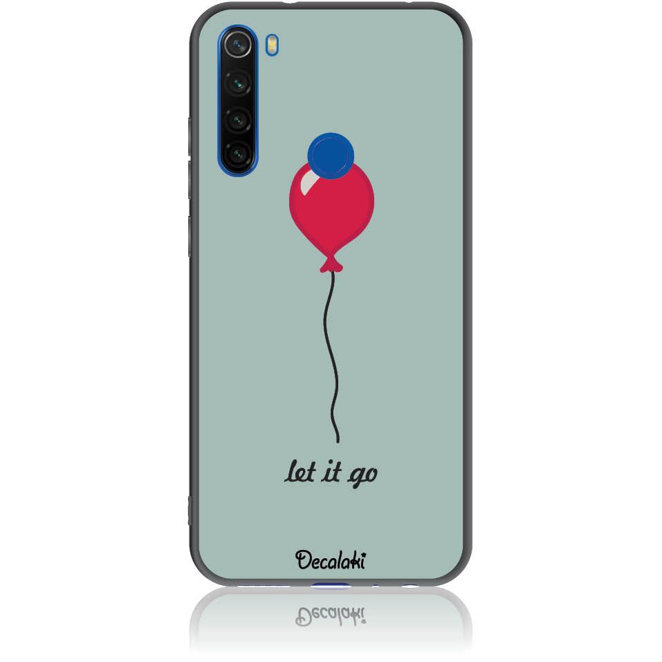 Let It Go Phone Case Design 50437  -  Xiaomi Redmi Note 8  -  Soft Tpu Case