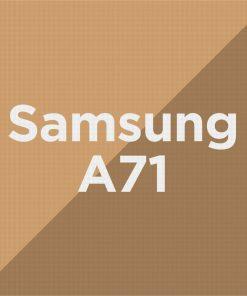 Customize Samsung A71