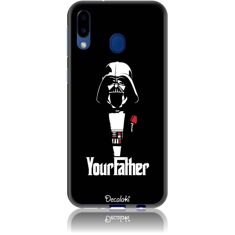 The Darhvader Phone Case Design 50004  -  Samsung Galaxy M20  -  Soft Tpu Case