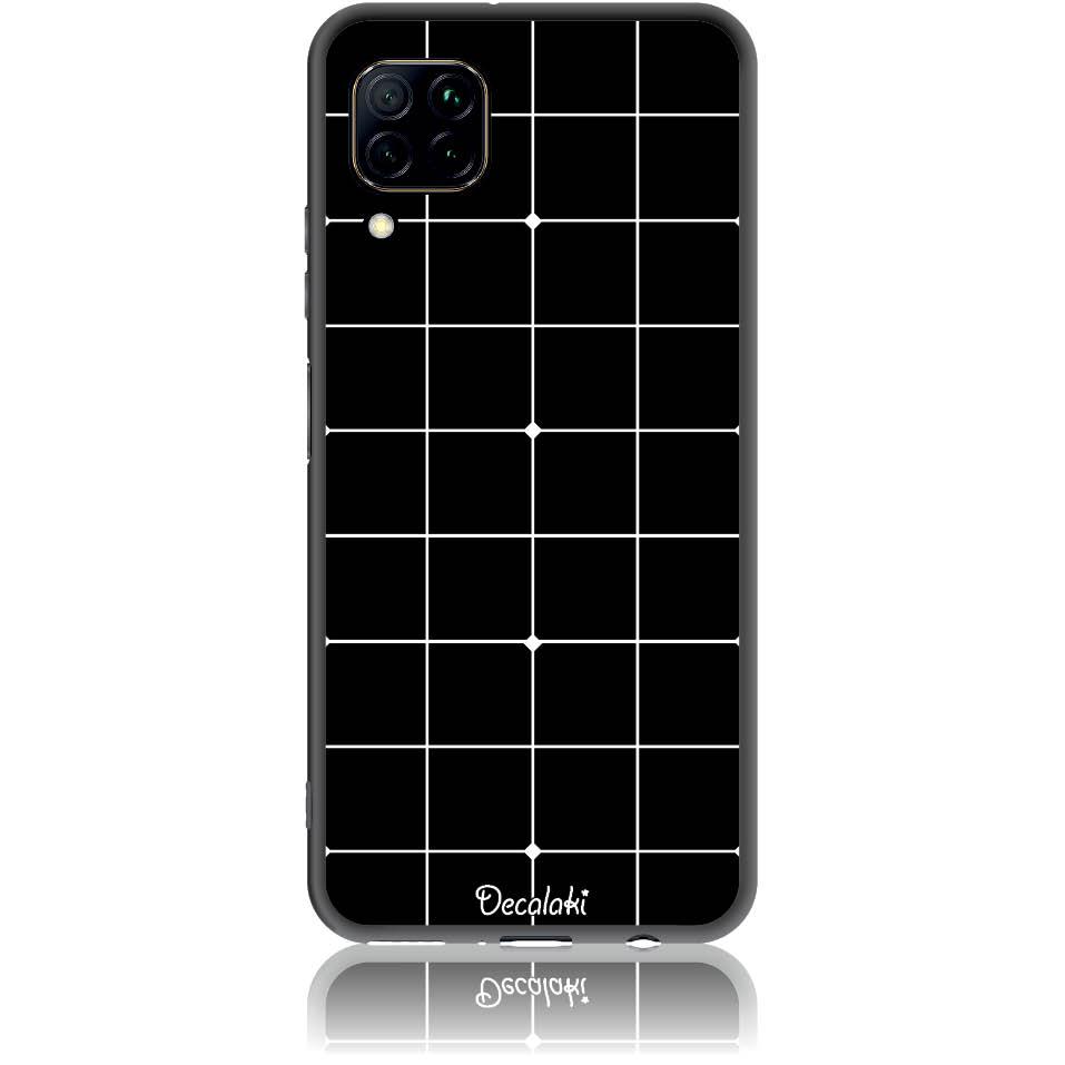 Pattern Black Lines Case Design 50035  -  Huawei P40 Lite  -  Soft Tpu Case