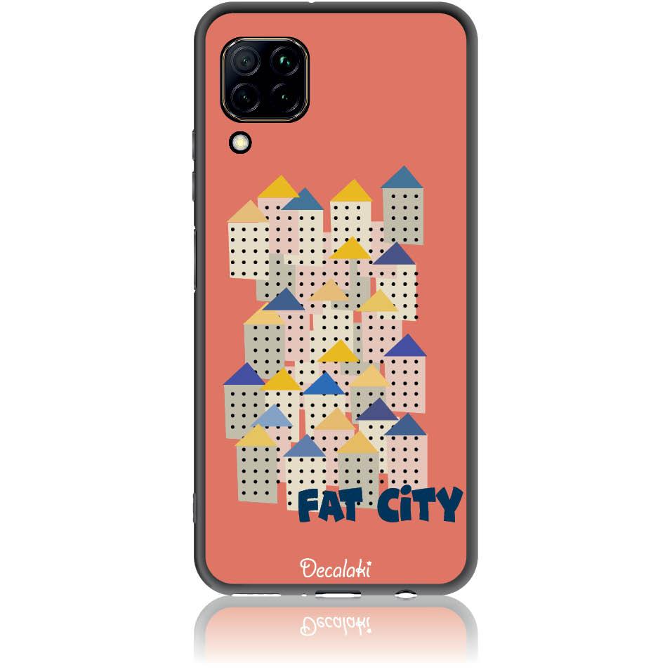 Fat City Pastel Phone Case Design 50171  -  Huawei Nova 7i  -  Soft Tpu Case