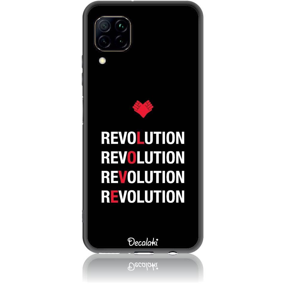 Love Revolution Phone Case Design 50230  -  Huawei Nova 7i  -  Soft Tpu Case